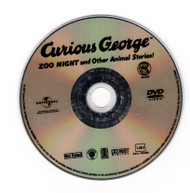 Curious George Zoo Night and Other Animal Stories DVD Professionally Cleaned