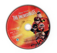 The Incredibles Disney Pixar DVD Professionally Cleaned