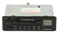 1999-2002 Kia Sportage AM FM Stereo with Cassette Player 1K08E66860C