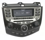 2005-2007 Honda Accord AM FM 6 Disc Changer with Aux 39175-SDR-A210-M2 face 7B01