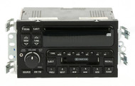 2000-01 Buick LeSabre AM FM Stereo Cassette CD Player w Auxiliary UPO  09389324