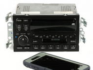 2000-2001 Buick LeSabre AM FM Stereo Cassette CD Player w Bluetooth UPO 09389324