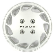 1990-1991 Hyundai Excel Single OEM Original Wheel Cover Hubcap 16 52960-24210