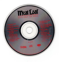 Meatloaf Hits Outs Of Hell CD Professionally Cleaned