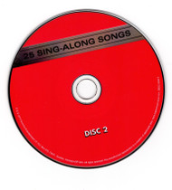 25 Sing Along Songs Disc 1 and 2 CD Professionally Cleaned