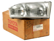 1992-1994 Toyota Camry Front Single Left Headlight Lamp Part Number 81170-06010