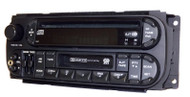 2002-2006 Jeep Chrysler Dodge AMFM CD Cassette Radio w Aux Input P05064042AB RAZ