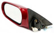 2000-2002 Mazda 626 Single Power Left Side View Mirror Part Number  GG2C691800