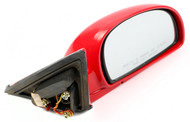 2010-2011 Hyundai Accent Single Lever Right Side View Mirror Part Number 012188