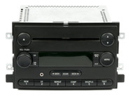 06 Ford Freestyle Mustang Five Hundred AM FM CD Radio w Aux Input 6F9T-18C869-BB