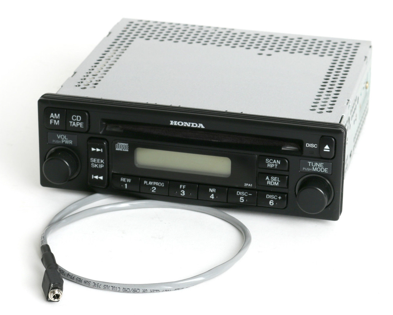 Honda Accord 01-02 Radio AM FM CD Aux Input W Code 39100