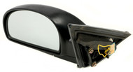 2002-06 Hyundai Accent Power Textured Left Side View Single Mirror 8761025760CA