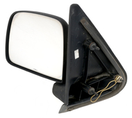 1993-94 Ford Ranger Manual BLK Left Side View Mirror OEM Single Part F37Z17683A