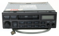 2001-02 Hyundai Santa Fe AM FM Radio Cassette with Aux on Pigtail 96140-2D100AX