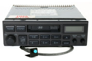 2001-02 Hyundai Santa Fe AM FM Radio Cassette Bluetooth on Pigtail 96140-2D100AX