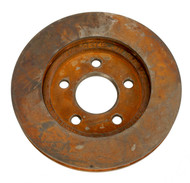 1986-1989 Dodge Plymouth Reliant Shadow Front Brake Rotor Part Number 18028794