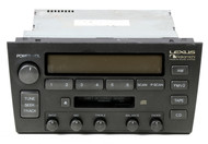 1998-2000 Lexus GS300 GS400 Receiver with Cassette Player 861203A620