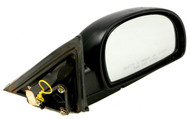 2010-2011 Hyundai Accent Single Right Painted Lever Side View Mirror Part 012188