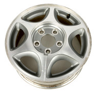 "1997-1999 Oldsmobile Cutlass Single 15 x 6"" Aluminum 5 Lug Wheel Rim  12363285"