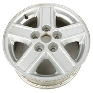 "2005-2007 Ford Escape Single 15 x 6-1/2"" Aluminum 5 Lug 5 Spoke Wheel 5L841007EB"