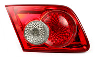 2003-2005 Mazda 6 Left Side Lid Mounted Tail Lamp with Bulbs 7443-12V21/5W