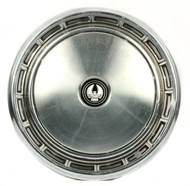 "1977-78 Chrysler LeBaron Single OEM 15"" Wheel Cover Hubcap With Emblem 57000401C"