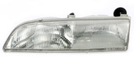 1989-1993 Ford Thunderbird Left Headlight Lamp Bulbs Included  E9SZ13008BL