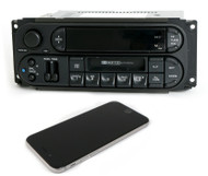 Chrysler Dodge Jeep RBB Radio 2003-2007 AM FM Cassette w Bluetooth & CD Controls