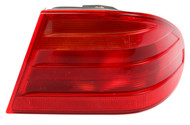 1996-99 Mercedes E Class Original OEM Right Tail Lamp Single Light Part 197042R