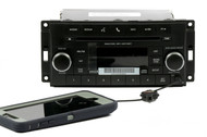 2012-17 Dodge 1500 2500 3500 Jeep Liberty Wrangler Stereo CD Aux RES P05091198AB