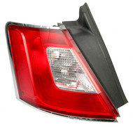 10-12 Ford Taurus Single Left Tail Light Lamp Quarter Panel Mounted AG13-13405-B