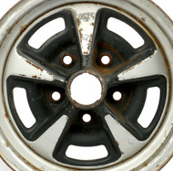 1967-1976 Pontiac Firebird OEM Wheel Single Rim 5 Lug 14 X 6 Part Number 525708
