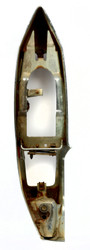80 Cadillac Fleetwood OEM Bumper Assembly Single Right Rear Part Number 5973560