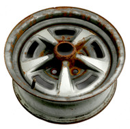 1977-1981 Pontiac Catalina Single Steel Wheel Rim 15x6 Part Number 10010310