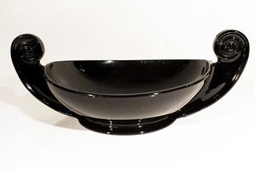 SOLD - Cambridge Art Deco Glass Bowl, Late 1920s