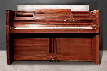 SOLD - Rare Jansen Art Deco Upright Piano, circa 1938