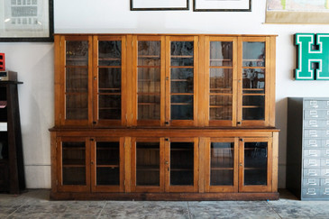SOLD - Antique Craftsman Softwood Cabinet, Late 19th Century