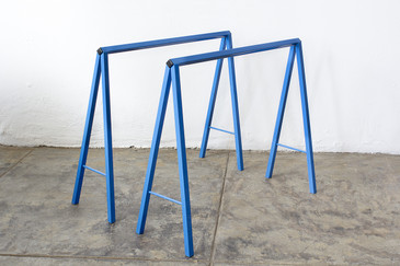 SOLD - Vintage A-Frame Table Legs, Refinished