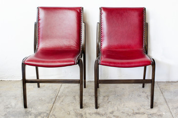 SOLD - Pair of Bentwood Swedish Side Chairs by Kungsor Stolen, Free U.S. Shipping