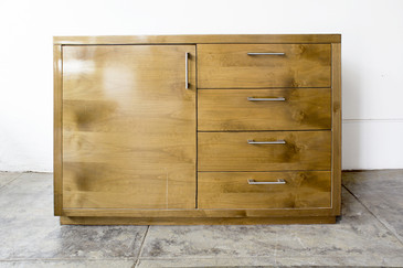SOLD - Maple Credenza/Dresser, Custom-Made, circa 1990