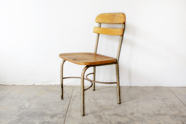 SOLD - 1950s School Chair, Uncommon