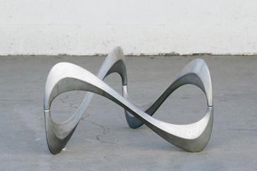 SOLD - Knut Hesterberg for Ronald Schmidt Snake Table, 1965