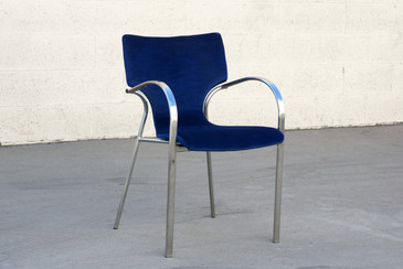 "SOLD - Vintage ""Strada"" Side Chair by Bernhardt Design"