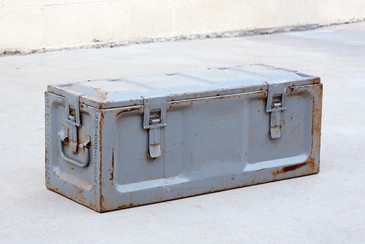 SOLD - Vintage U.S. Army Ammo Fuze Case, WWII