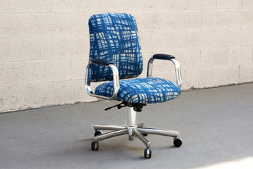 SOLD - Vintage SteelCase Executive Steno Armchair, Refinished