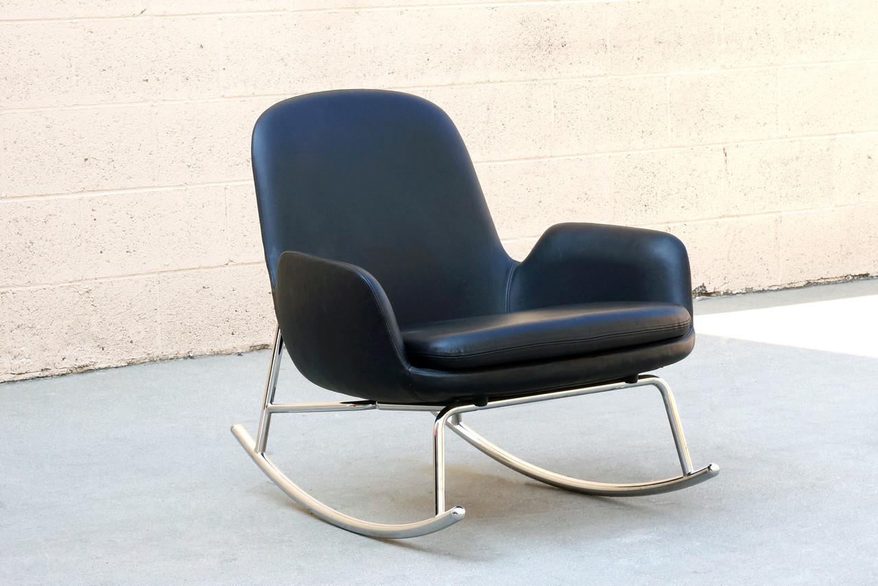Sold Danish Modern Rocking Chair By Simon Legald For Normann Copenhagen Rehab Vintage Interiors