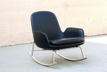 SOLD - Danish Modern Rocking Chair by Simon Legald for Normann Copenhagen