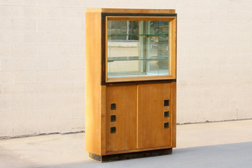 SOLD - Modernist Display Cabinet in the Style of Paul Laszlo