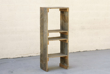 SOLD - Antique Distressed Wooden Bookcase