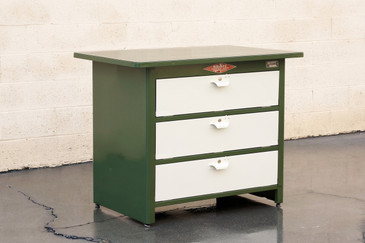 1960s Tool Cabinet by NUARC Graphic Arts Equipment, Refinished